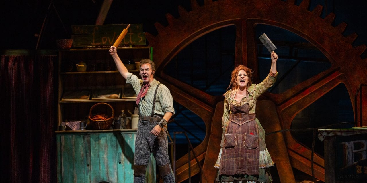 So much to savor in Pioneer Theatre's SWEENEY TODD