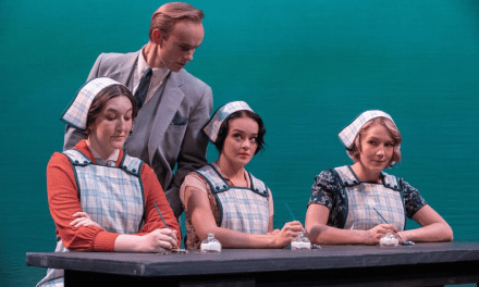 A beaming production of RADIUM GIRLS at BYU