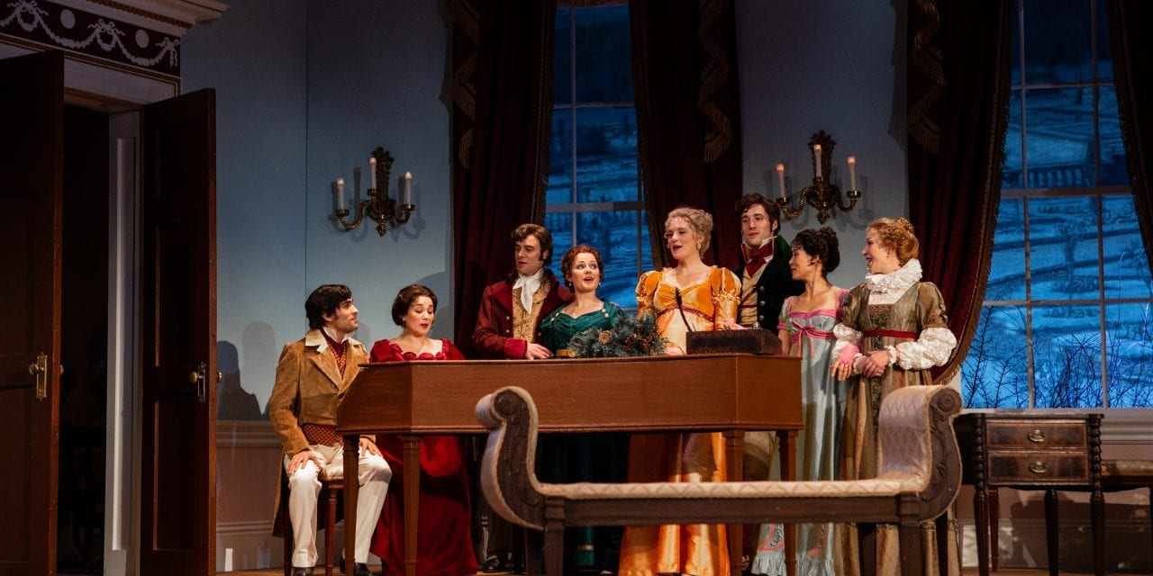 PTC's CHRISTMAS AT PEMBERLEY is shallow fan fiction