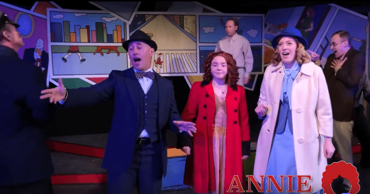 """See the Hopebox Theatre's production of ANNIE for """"A New Deal For Christmas"""""""