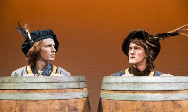A lifeless ROSENCRANTZ AND GUILDENSTERN ARE DEAD at BYU