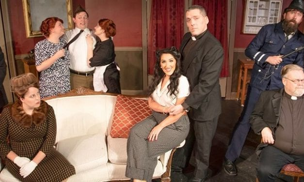 Things go delightfully wrong in Hopebox Theatre's SEE HOW THEY RUN