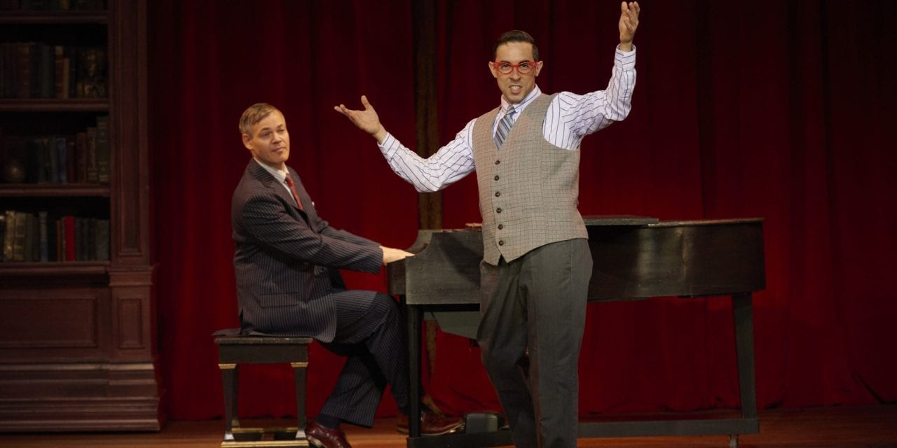 MURDER FOR TWO: a killer new musical at the Old Lyric