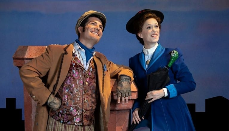 """MARY POPPINS is """"Practically Perfect"""""""