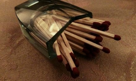 Put yourself in her shoes in MATCHSTICK THEORY
