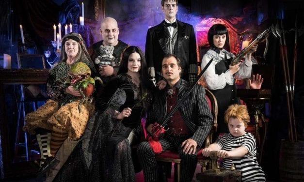 Hale's ADDAMS FAMILY is a halloween treat