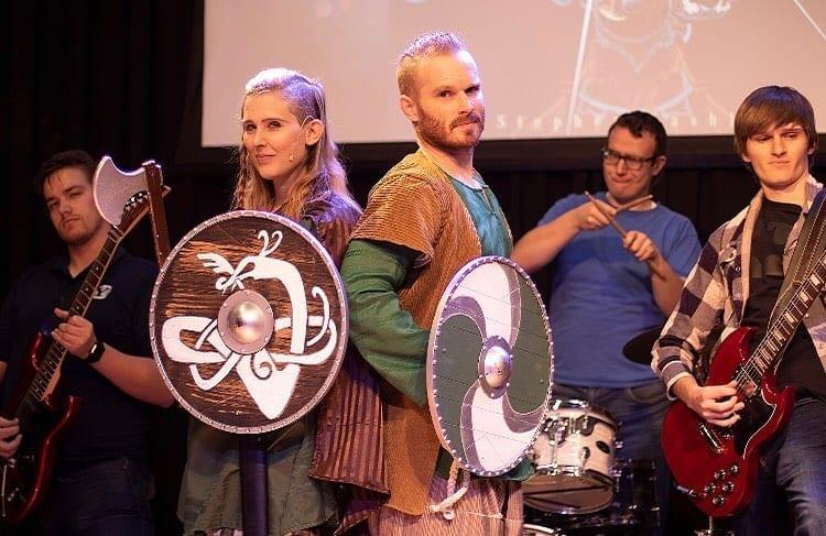 VALHALLA! A NORDIC ROCK OPERA premieres in historic Angelus Theatre