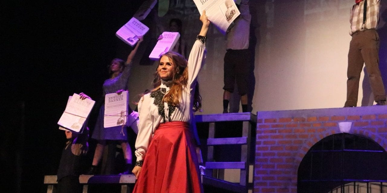 ASL production of NEWSIES is unforgettable and riveting