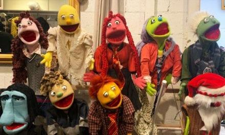 A puppet Potter Christmas