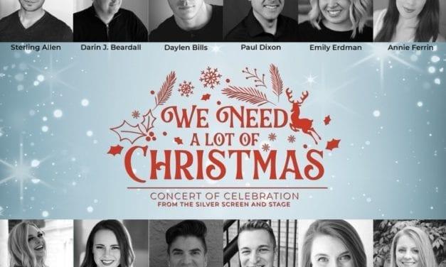WE NEED A LOT OF CHRISTMAS brings the Christmas spirit