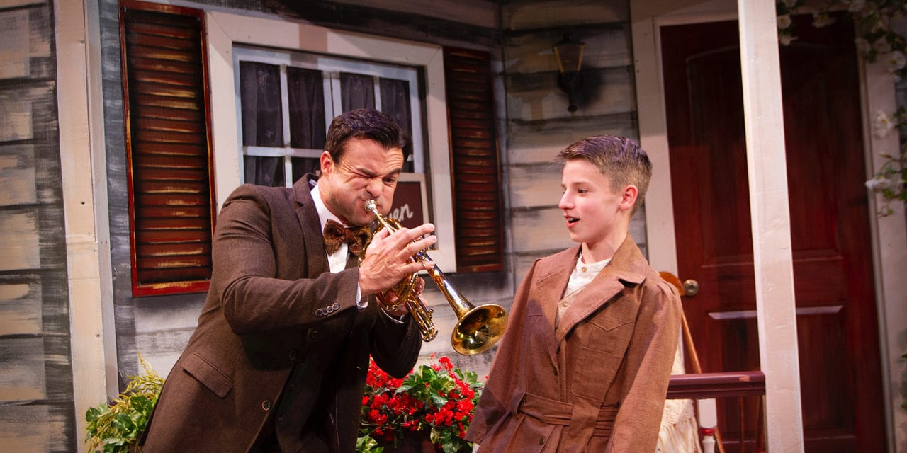 A beautiful tribute to Willson's THE MUSIC MAN