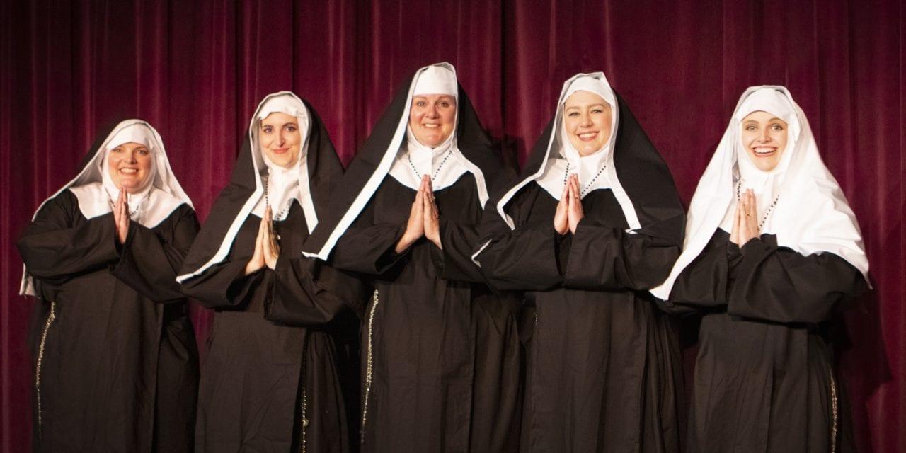 Familiar habits create hilarity at Heritage Theatre's NUNSENSE