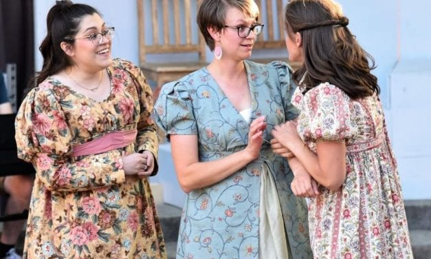 PRIDE AND PREJUDICE in the park is a midsummer night's dream