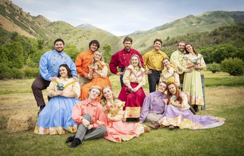 SCERA's SEVEN BRIDES FOR SEVEN BROTHERS is for the show's fans