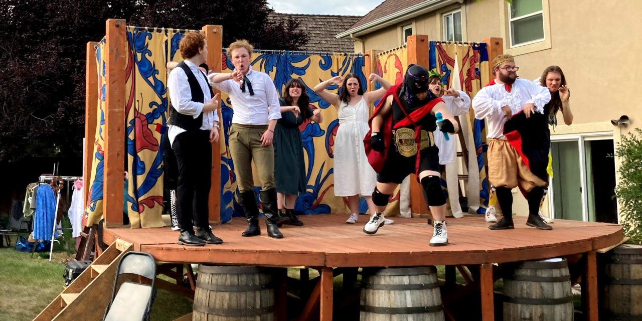 A rusty, not rustic, AS YOU LIKE IT from Grassroots Shakespeare
