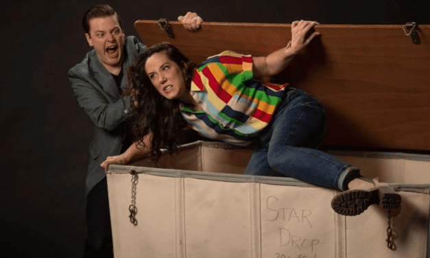 Double, no, triple the laughs at COMEDY OF TERRORS