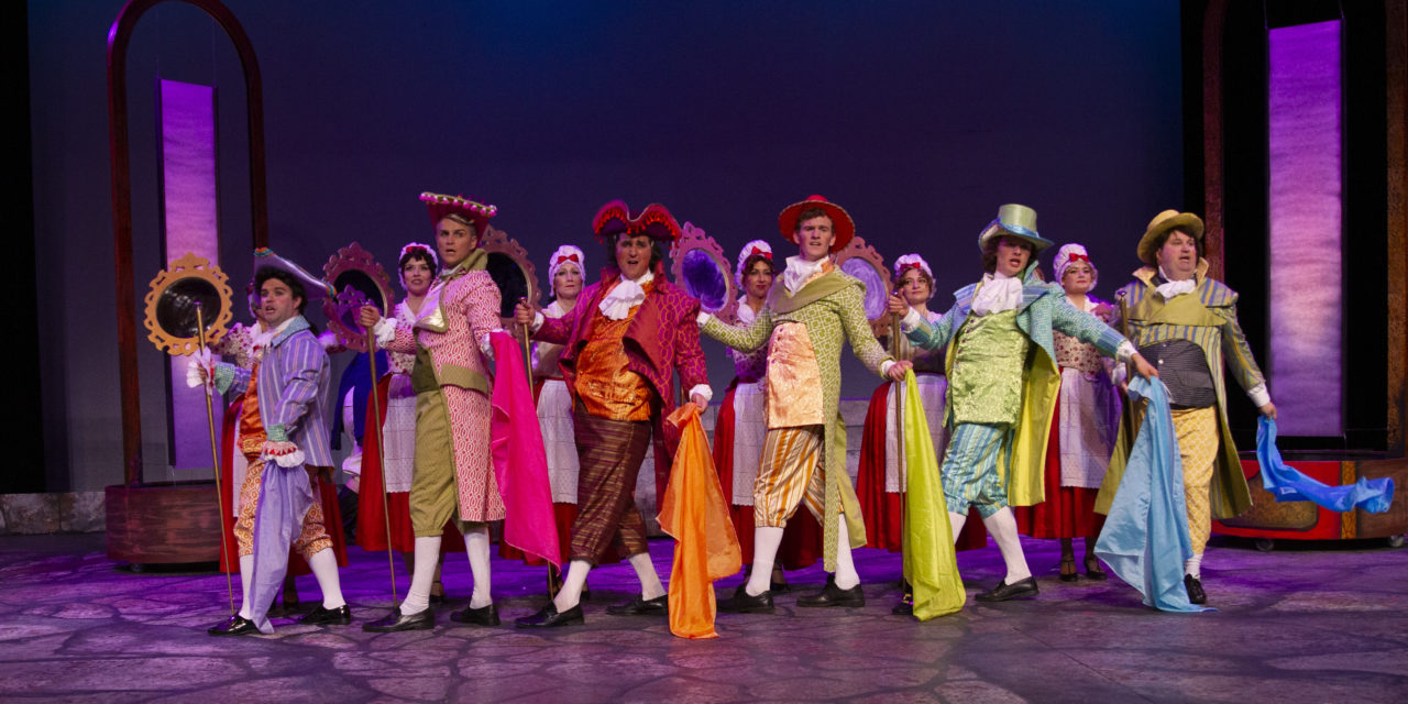 CenterPoint offers a strong production of THE SCARLET PIMPERNEL