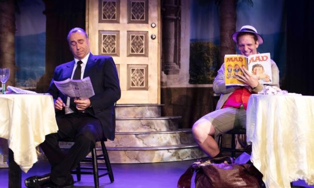 Let Heritage Theatre's DIRTY ROTTEN SCOUNDRELS steal your heart