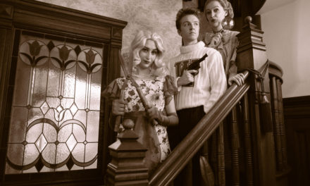 Audiences should be dying to see Weber State's SOMETHING AFOOT