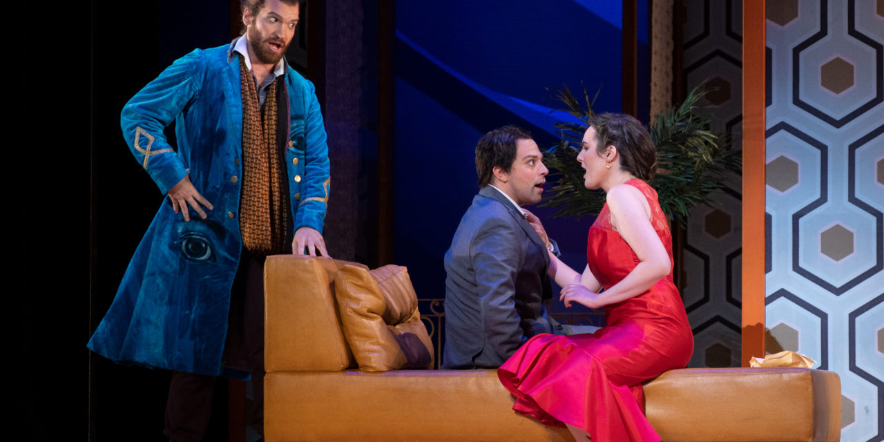 Singers soar in Utah Opera's THE BARBER OF SEVILLE