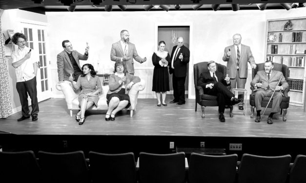 A cozy and thrilling night at Pleasant Grove Player's production of AND THEN THERE WERE NONE